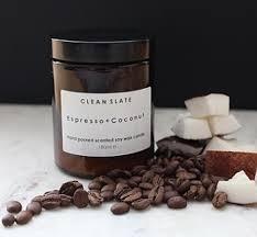 clean slate espresso and coconut