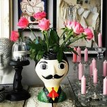 Mexican Senor vase in ceramic