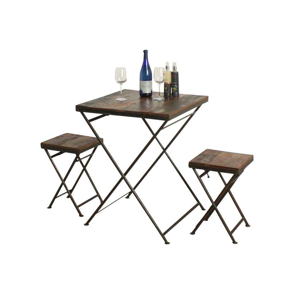 Folding Bistro Table Factory Collection The Old Mill Stores