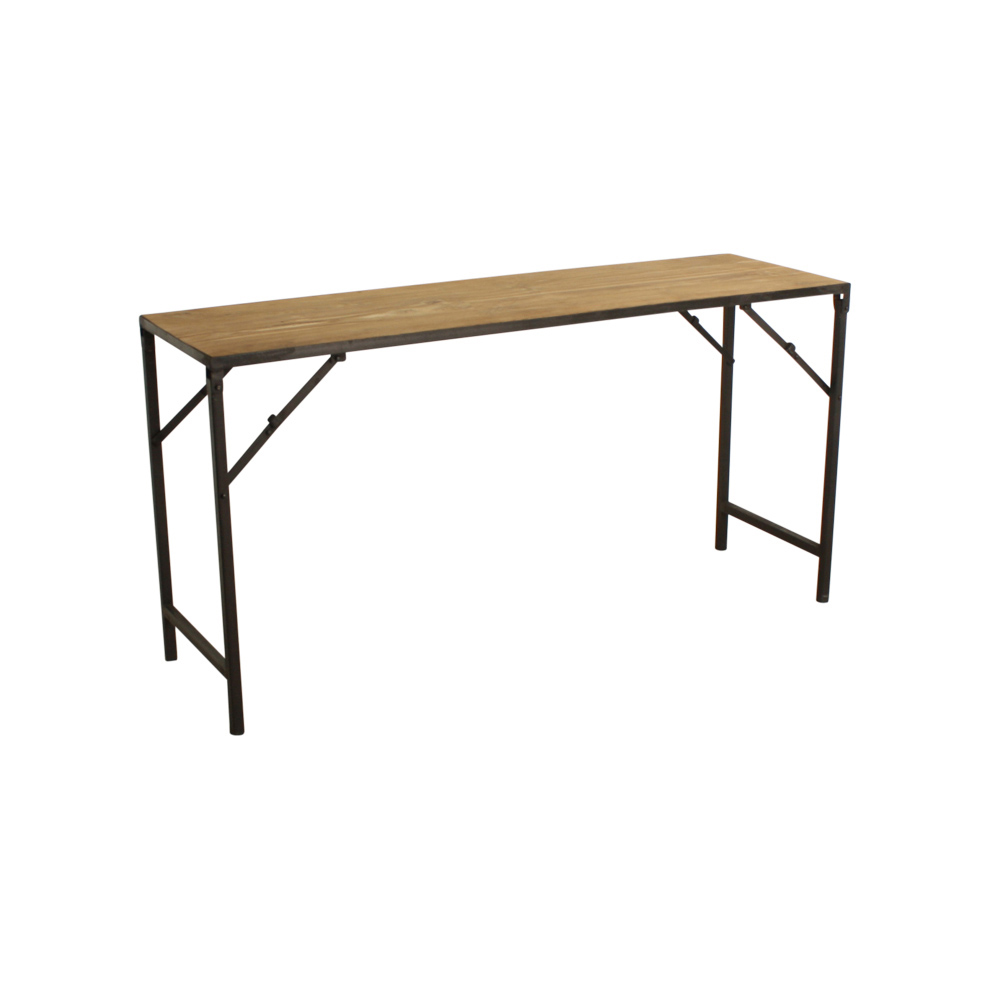 Folding sofa table walnut folding console table www for Table console retractable
