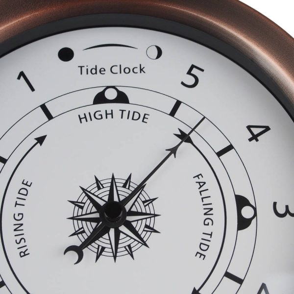 Tide clock rose copper