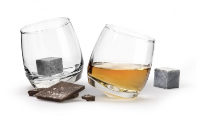 whiskey glass, drink cubes, rocking glass, non melting cubes for drink, gift set, Christmas present
