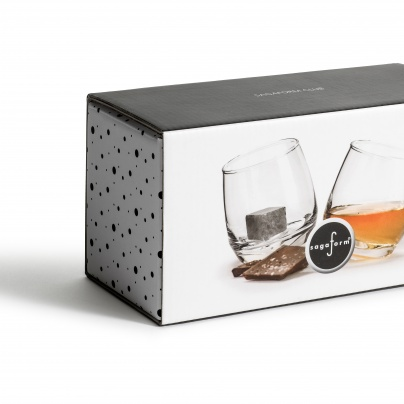 Whiskey lovers, whiskey glass, drink cubes, rocking glass, non melting cubes for drink, gift set, Christmas present