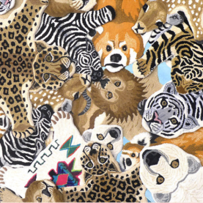 Animal rugs collection