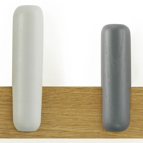 Get hooked with these playful 5 peg coat racks from Danish design experts Normann Copenhagen